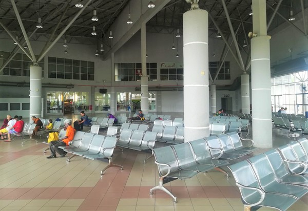 Waiting Area in Klang Sentral
