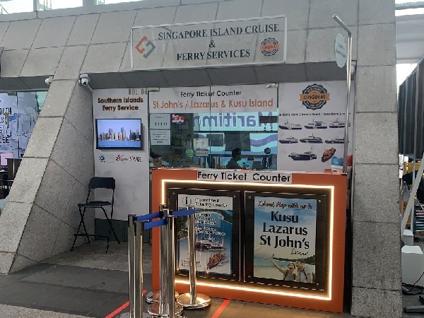 Counter for Singapore Island Cruise & Ferry Services