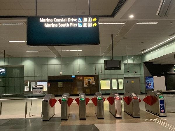 Marina South Pier MRT Exit B