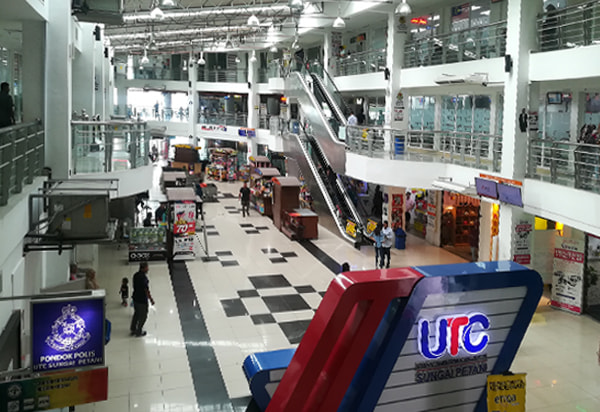 Inside UTC Sungai Petani