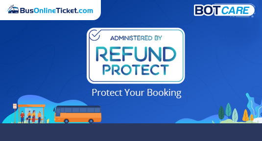 Get Refund Protect with BusOnlineTicket.com