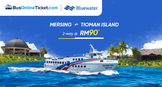 PROMO! 2-Way Ticket for Ferry between Mersing and Tioman Island