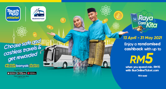 Get Raya Cashback When You Pay Via TNG eWallet