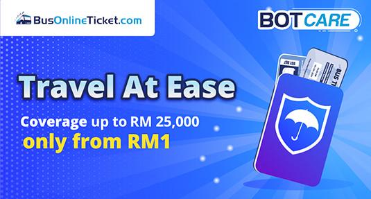 Travel Insurance from RM1 BusOnlineTicket.com