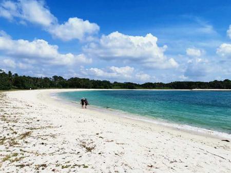 Lazarus Beach in St John Island