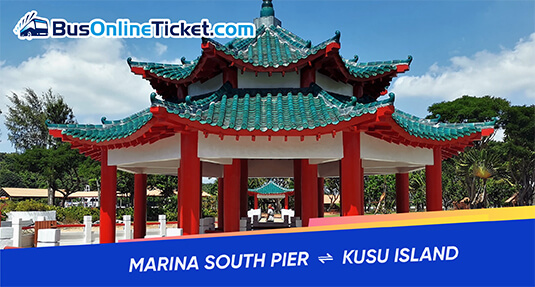 Ferry to Kusu Island from Marina South Pier
