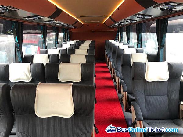 Pancaran Matahari Express Bus Seats