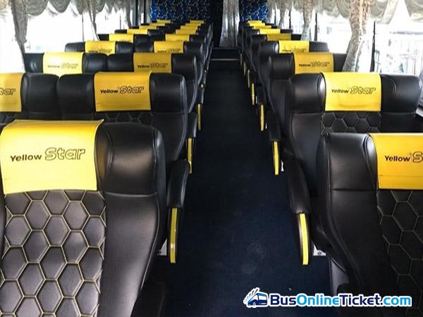 Yellow Star Express Bus Seat